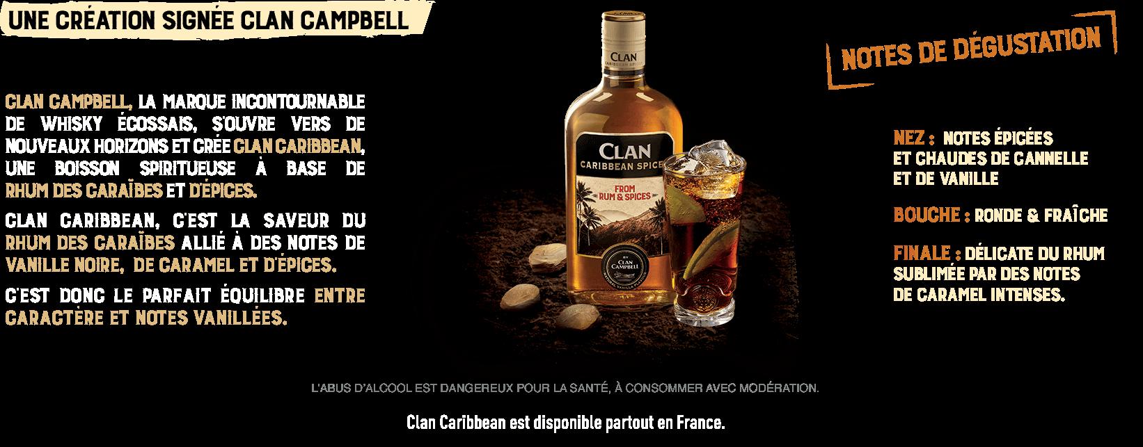 Une création signée Clan Campbell