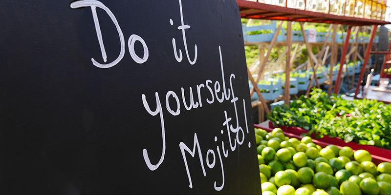 Do it yourself mojito
