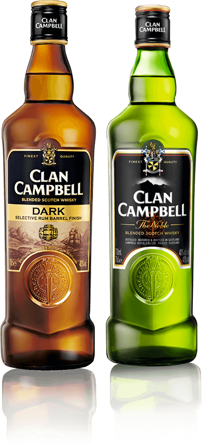 Bouteilles Clan Campbell, Clan Campbell Dark